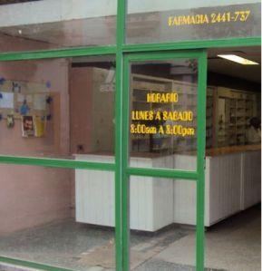Pharmacy in Havana, Cuba