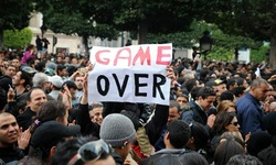 "The famous ""GAME OVER"" – Tunisian Revolution"