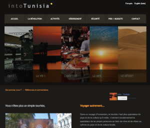 Into Tunisia Web site