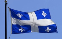 The Quebecer flag