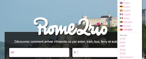 Rome2Rio Francais