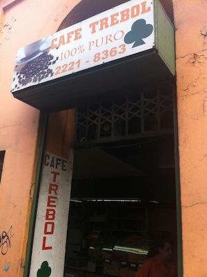 Cafe Trebol - San José, Costa Rica