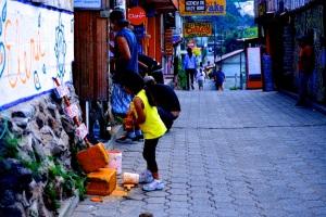Calle de San Pedro La Laguna, Guatemala