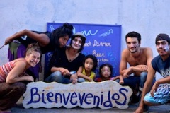 Our volunteers team of painters