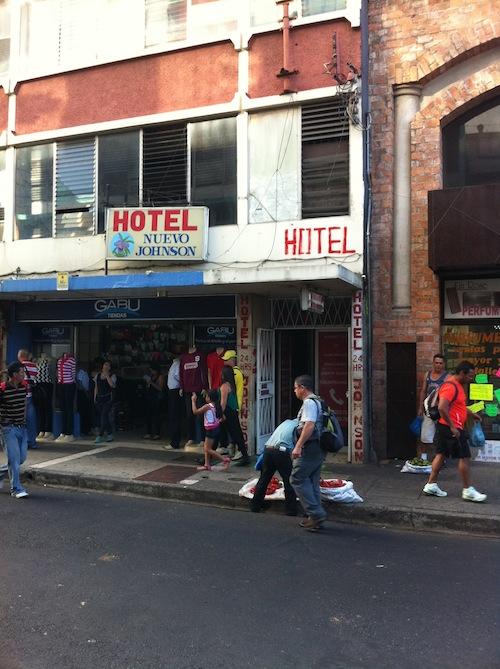 Hotel Nuevo Johnson, San José, Costa Rica