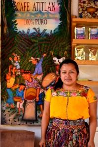 Olga from Café Atitlan