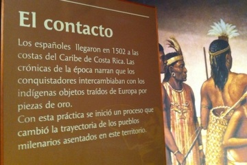 The Contact with the Western World - Museo del Oro Precolombino