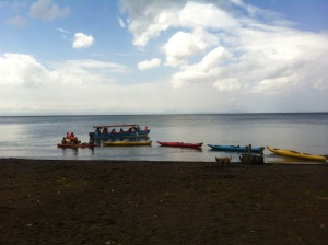 Kayak rental Merida Ometepe Nicaragua