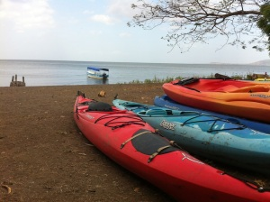 Kayaks - El Caballito del Mar - Mérida, Ometepe Island, Nicaragua