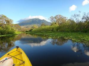 Kayak on the Rio Istian - El Caballito del Mar, Mérida, Ometepe Island, Nicaragua