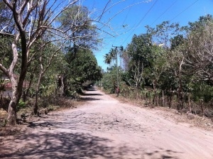 Main street in Mérida, Ometepe Island - Nicaragua