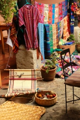 Traditional weaving, Café Fernanda