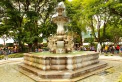 Fontaine et Parc central