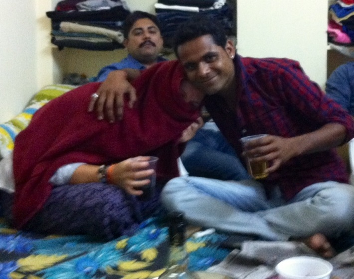 Swaroop and Carolina, Jaisalmer