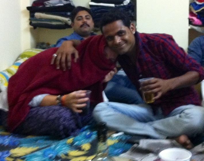 Swaroop and Carolina, Jaisalmer