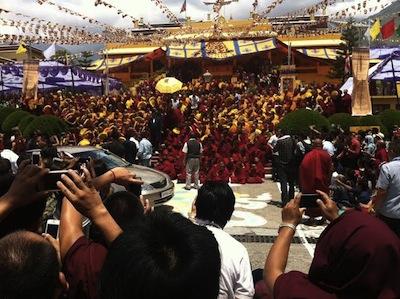 The Dalai Lama, Dharamshala