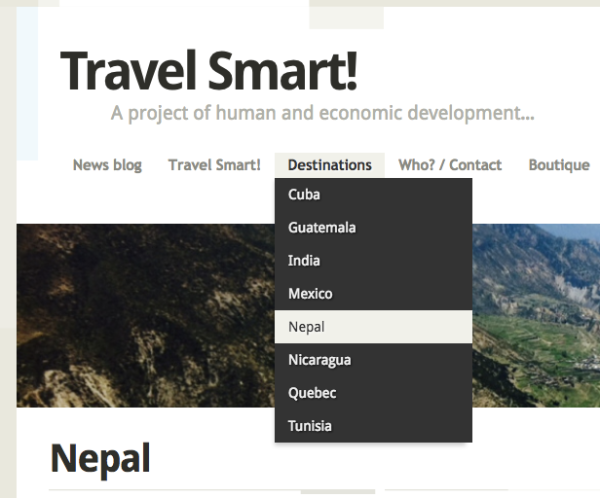 Destination Nepal - Travel Smart!