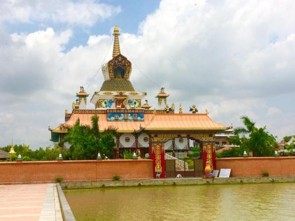 Lumbini, the birth place of Lord Buddha (Nepal)