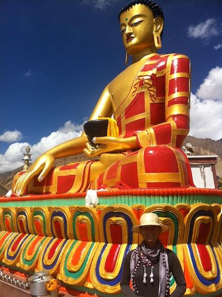 Buddha Statue in Hemis Shukpachan, Ladakh