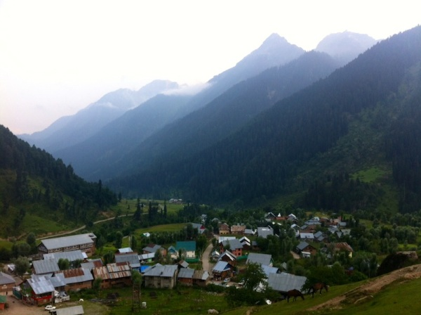 The village of Aru - Kashmir