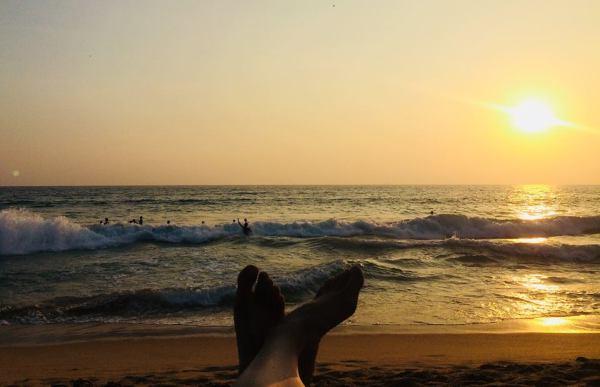 On the beach - Hikkaduwa - Sri Lanka