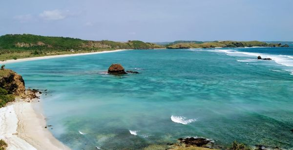 Around Kuta Beach, South Lombok